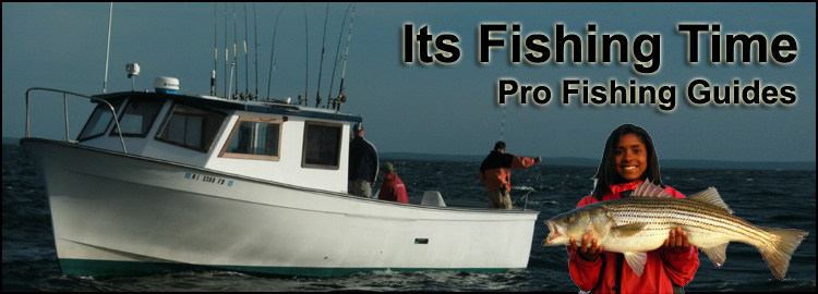 Contact its fishing time charters for Peak fishing times for today